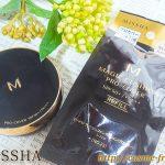 【購入品】MISSHA(ミシャ)のクッションファンデ、リフィル交換体験レビュー